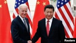 Джо Байден и Си Цзиньпин. Архивное фото