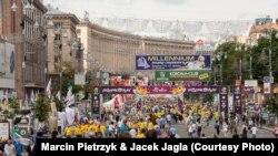 """Qyteti Kiev gjatë Kampionatit të Futbollit """"Euro 2012"""""""