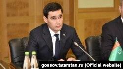 Сын президента Туркменистана Сердар Бердымухамедов.