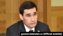 Сын президента Туркменистана Гурбангулы Бердымухамедова Сердар Бердымухамедов.