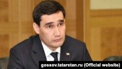 Сардор Бердимуҳаммадов, писари раиси ҷумҳури Туркманистон