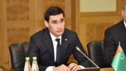 "Golaýda ministr bellenen Serdar Berdimuhamedow ""jemgyýetçiligiň ünsüne hödürlenýär"""