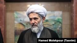 Hossein Ta'eb (Taeb), Chief of the Revolutionary Guard's Intelligence Unit. Undated photo. .