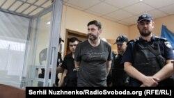 Кирило Вишинський у суді, Київ, 3 липня 2019 року