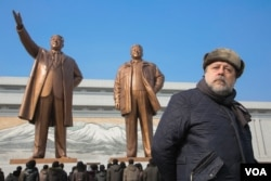 Rus rejissoru Vitaly Mansky Şimali Koreyada.