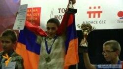 12-ամյա Հայկ Մարտիրոսյանը` Եվրոպայի կրկնակի չեմպիոն