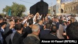 تشييع جثمان محمد بحر العلوم