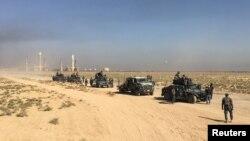 Forcat federale të Iranit në provincën Kirkuk.