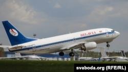 Пассажирский самолет авиакомпании «Белавиа». Иллюстративное фото.