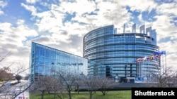 Илустрација - Европарламентот во Стразбур