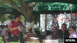 Разладување низ скопските кафе барови