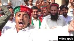 Pakistanly protestçiler