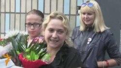 Алена Ліхавід выйшла з Акрэсьціна