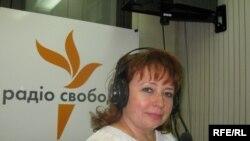 Ніна Карпачова у студії Радіо Свобода