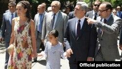 (Фотография предоставлена пресс-службой президента Армении)
