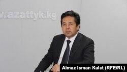Бұрынғы бірінші вице-премьер-министр Тайырбек Сарпашев. Мұрағаттан алынған сурет.