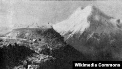 Эльбрус, самая высокая вершина Европы
