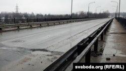 Мост у Наваполацку, архіўнае фота