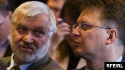 Пётра Садоўскі і Вінцук Вячорка