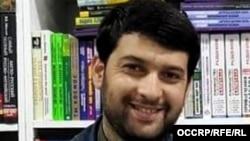 Осужденный таджикский журналист Далер Шарифов. Архивное фото