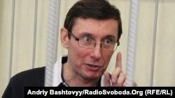 Украина собиқ Ички ишлар вазири Юрий Луценко, Киев шаҳар суди, 2011 йил 9 июн.