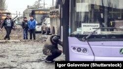 Донбасс, автобусы, иллюстративное фото