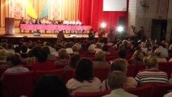 Хімічна аварія в окупованому Армянську: в Каланчаку зібрали термінові збори мешканців – відео
