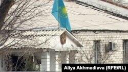 Әскери сот ғимараты. Талдықорған, 12 қараша 2012 жыл.