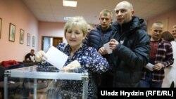 Праймэрыз апазыцыйных палітыкаў у Гарадку Віцебскай вобласьці