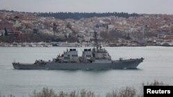 ABŞ hərbi gəmisi.