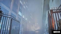 اسناد ۴۰ ساله وزارت نیرو در این آتشسوزی، خاکستر شد