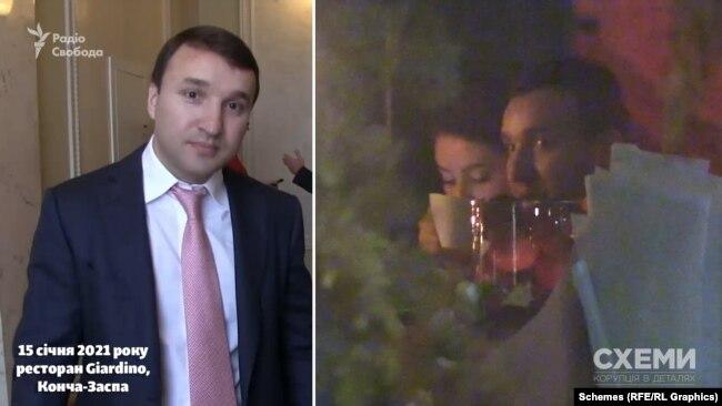 Там було близько 20 відвідувачів – серед яких і народний депутат минулого скликання від «Опозиційного блоку» Андрій Кісельов