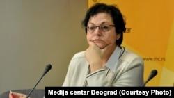 Ministarka Gordana Čomić