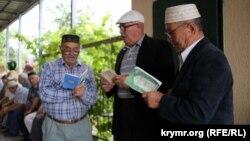 Server Karametovnıñ cenazesi, Eski Qırım, 2018 senesi iyünniñ 24