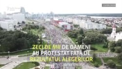 Protestele continuă în Belarus