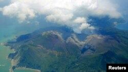 Аэрофотосъемка острова Кутиноэрабу