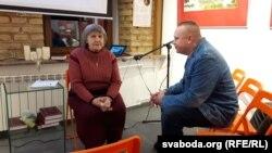 Данута Бічэль і гарадзенскі паэт Анатоль Брусевіч