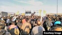 اعتراض کارگران معدن انگوران