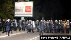 Sukobi s policijom 17. oktobar 2015.