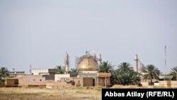 Pamje e një pjese të qytetit Samarra në Irak