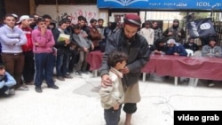 خيمة دعوية ينظمها التنظيم لاجتذاب الأطفال تمهيدا لتجنيدهم في صفوفه