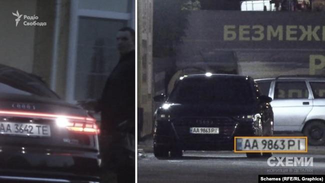 Audi, на якій Сергій Шефір приїхав на заправку, використовується ним на постійній основі