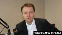 Siegfried Mureșan, în studioul Europei Libere la Chișinău