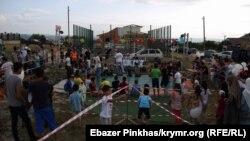 Празднование Ораза-байрама в Бахчисарае, 6 июня 2019 год