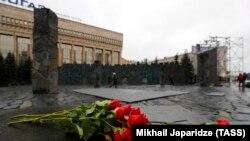 "Мемориал ""Стена скорби"" в Москве. Архивное фото."
