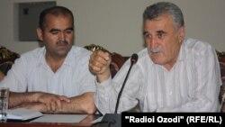 Адвокаты Фахриддин Зокиров и Исхок Табаров