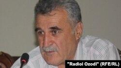 Исхак Табаров, адвокат лидера незарегистрированной партии «Новый Таджикистан» Зайда Саидова.