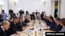 Discuții Serghei Lavrov - Nicu Popescu, Moscova, 11 septembrie 2019