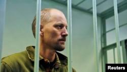 Një nga të arrestuarit në Murmansk