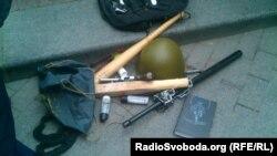Зброя, вилучена в одеських сепаратистів, 7 квітня 2014 року